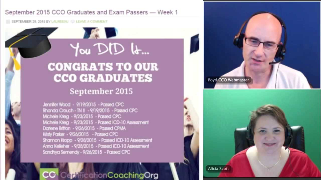 Cco graduates and medical coding exam passers september 2015 youtube cco graduates and medical coding exam passers september 2015 xflitez Choice Image