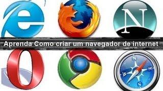 Como criar seu próprio navegador de internet com apenas uma linha de programação C# - Video Aula