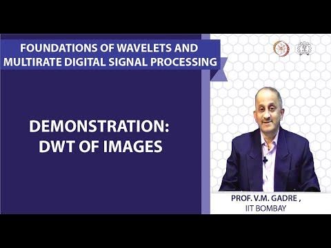 Demonstration: DWT of images