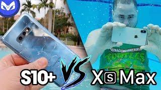 EL GALAXY S10e Resiste al AGUA? iPhone Xs Max vs Galaxy S10+ thumbnail