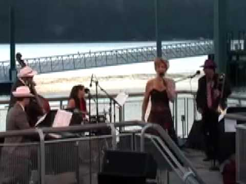 """""""Zoot Suit Riot"""" by Joan Crowe & Jesters Of Jive at the Yonkers Pier"""
