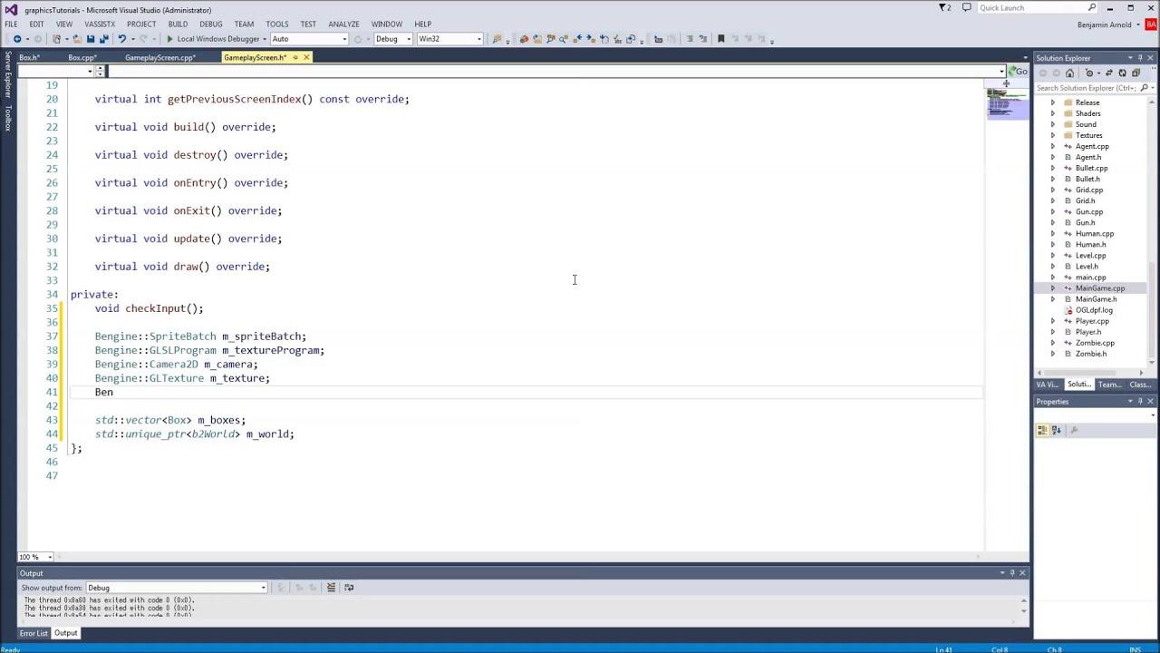 Advanced C++/Graphics Tutorial 46: Box2D Physics
