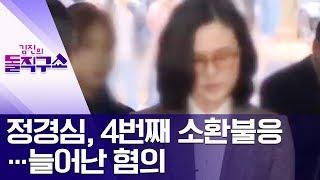 정경심, 4번째 소환불응…늘어난 혐의 | 김진의 돌직구쇼