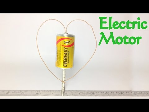 How To Make Electric Motor At Home