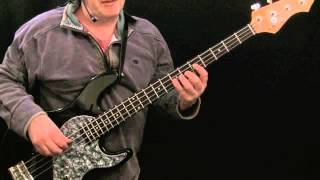 How To Play Bass To Walk Don