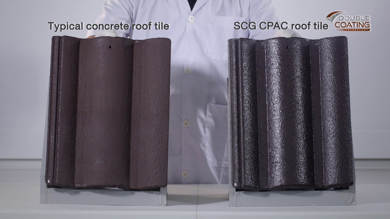Scg Cpac Series Roof Tile Youtube