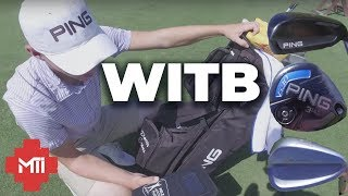 Golf Top Ranked Junior Whats In The Bag - Davis Evans Updated
