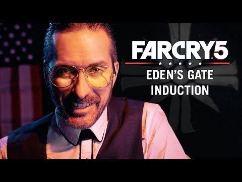 Eden's Gate Induction [ASMR] [Joseph Seed] [Far Cry 5]