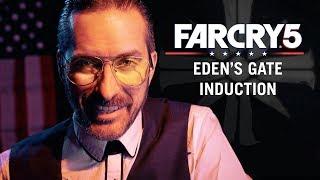 Eden's Gate Induction [ASMR] [Joseph Seed] [Far Cry 5] thumbnail