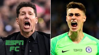 What would happen to Kepa Arrizabalaga if he refused substitution under Diego Simeone? | Extra Time