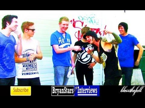 Blessthefall Interview #2 Beau Bokan 2012