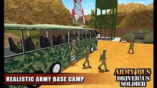 Army Bus Driver 2021 : Real Military Coach Simulator | Bus Games | Army Bus Driving Games screenshot 5