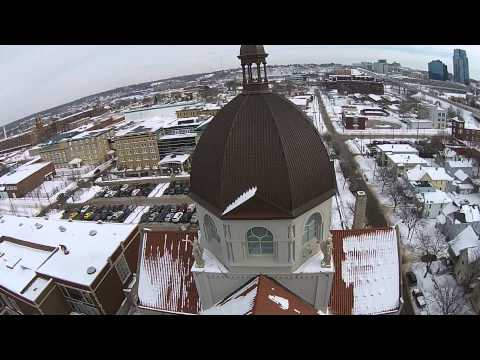 Basilica of St Adalbert, Grand Rapids, Michigan, February 2014