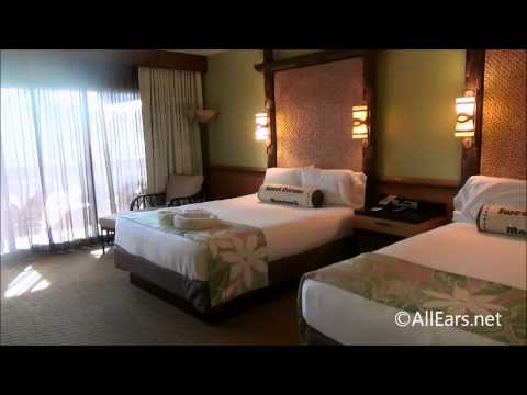 DIsney's Polynesian Resort Room Tour