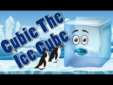 Cubie The Ice Cube | Learn Shapes | 3D Shapes | Jack Hartmann