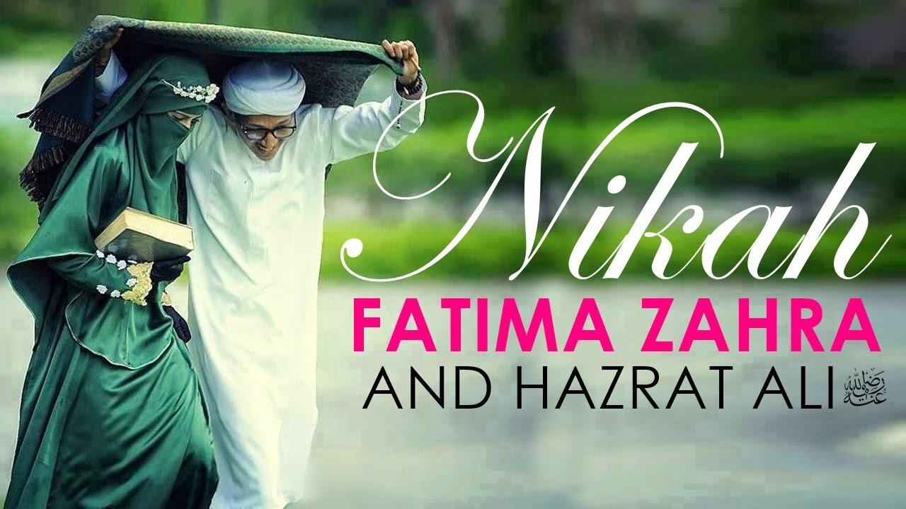 The Untold Story || Nikah e Fatima Zahra R A & Hazrat Ali R A || Beautiful  Speech || Full HD