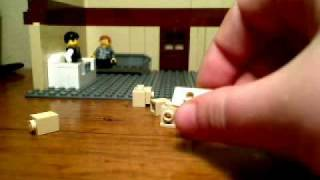 Lego Tutorial: Computer  Desk