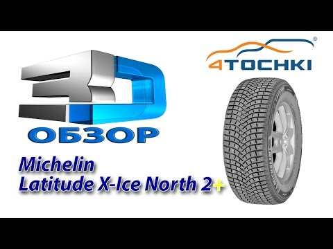 3D-обзор шины Michelin Latitude X-Ice North 2+