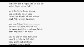 Gedicht zum 50. Geburtstag - lustig und witzig und ernst - die arme Sau