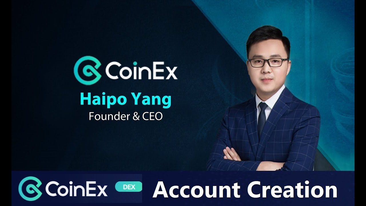 How to Create CoinEx Dex Account ?