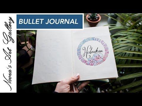 Bullet Journal - Helmikuu - Noora's Art Gallery