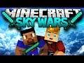 """Minecraft """"THE KOOL KID CLUB"""" Sky Wars Mini-Game! w/ Lachlan & Vik"""