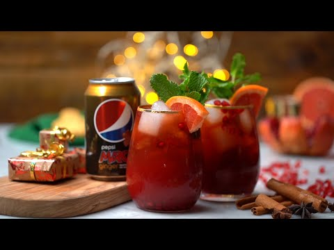 How To Make a Pepsi MAX Ginger and Pomegranate Paloma