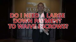 Waiving Escrow For A Mortgage