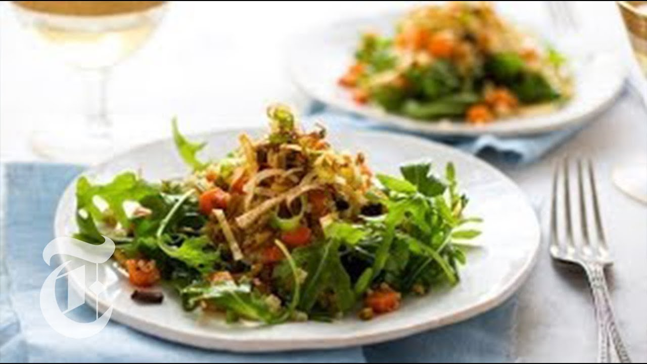 Quinoa Salad For A Crowd Melissa Clark Recipes The New York Times Youtube