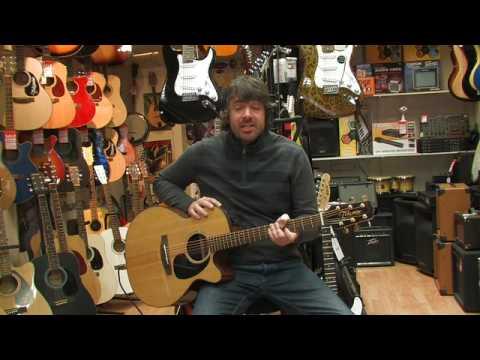 takamine eg440c electro acoustic guitar review by rikki 39 s music shop edinburgh youtube. Black Bedroom Furniture Sets. Home Design Ideas
