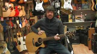 takamine eg440c electro acoustic guitar review by rikki-s music shop, edinburgh