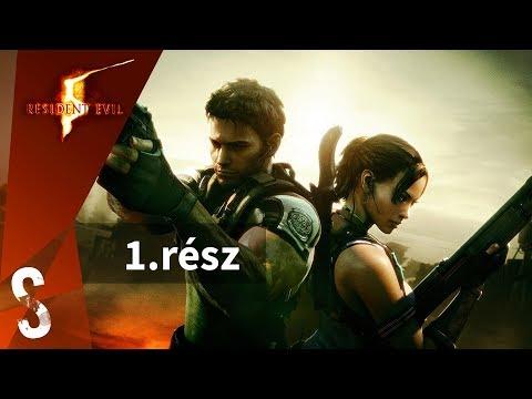 Resident Evil 5 végigjátszás magyar kommentárral 1.rész - Csak a jó meleg Afrika