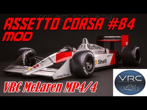 Assetto Corsa #84# Mod # VRC McLaren MP4/4