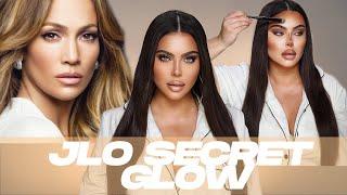 JLo Secret Glow Technique | Celebrity Makeup Tutorial