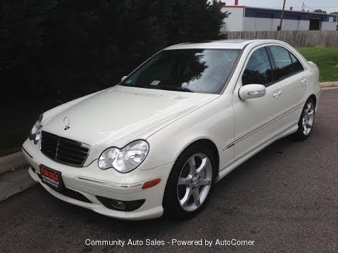 2007 mercedes benz c230 sport walkaround start up and for Mercedes benz c230 sport 2007