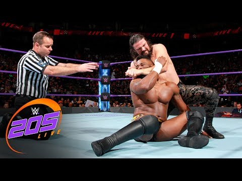 Thumbnail: Cedric Alexander vs. The Brian Kendrick: WWE 205 Live, Sept. 19. 2017
