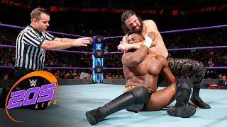 Cedric Alexander vs. The Brian Kendrick: WWE 205 Live, Sept. 19. 2017 thumbnail