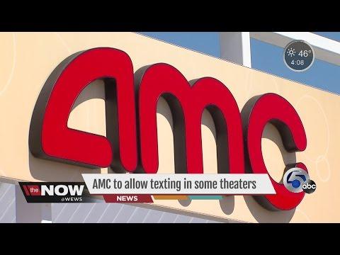 Texting At AMC Movie Theaters- Tara Molina