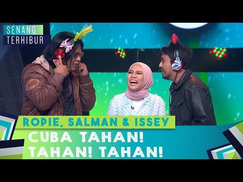 Ropie, Salam & Issey Cuba Tahan! Tahan! Tahan! | Senang Terhibur (2020)
