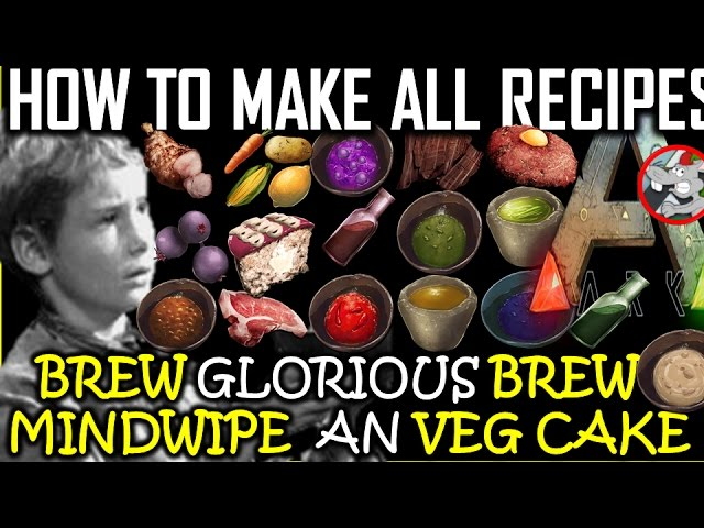 Ark survival evolved how to make all recipes mindwipe medical elite forumfinder Gallery