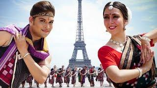Download Sambalpuri dance at the Eiffel Tower (Paris, France)   Rasarkeli Bo