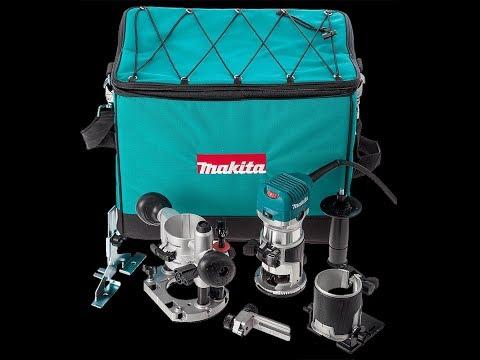 Кромочный фрезер Makita RT0700CX2