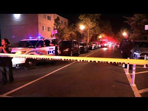 6 Shot, one killed in Washington, D.C.