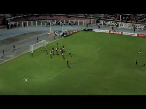 ANTHONY BLONDELL (ZAMORA FC) CENTRE FORWARD (Zamora FC 4 Vs Dtvo. Lara 2) 26-7-2015 (in min. 69)