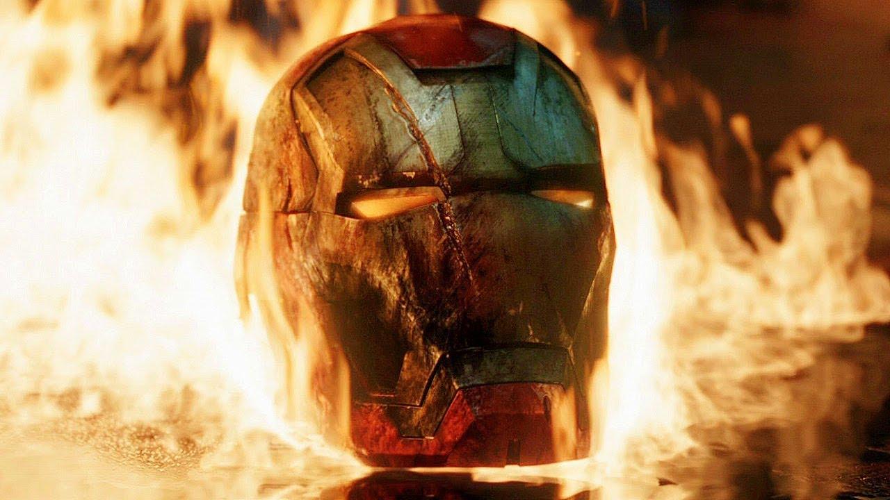 Iron Man Vs Killian Final Battle Scene Iron Man 3 2013 Movie