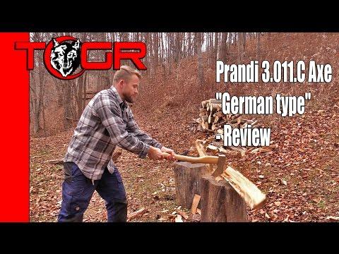 "Prandi 3.011.C Axe ""German type"" - Review"