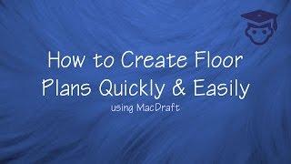 How To Create Quick Floorplans In Macdraft