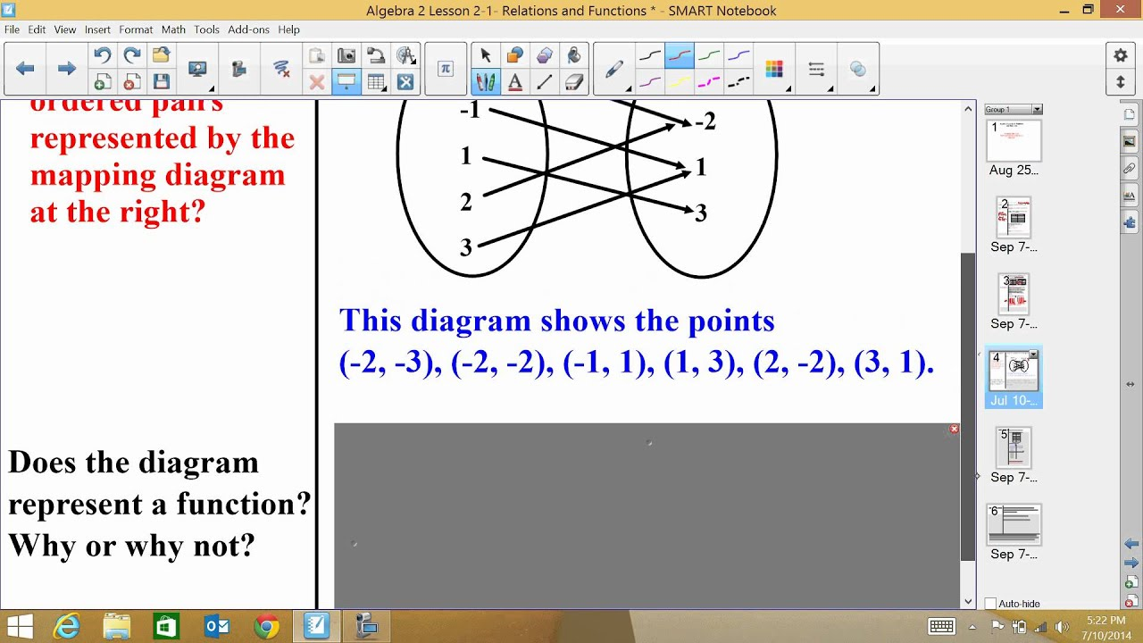 Algebra 2 Lesson 21 Relations and Functions YouTube – Algebra 2 Functions Worksheet