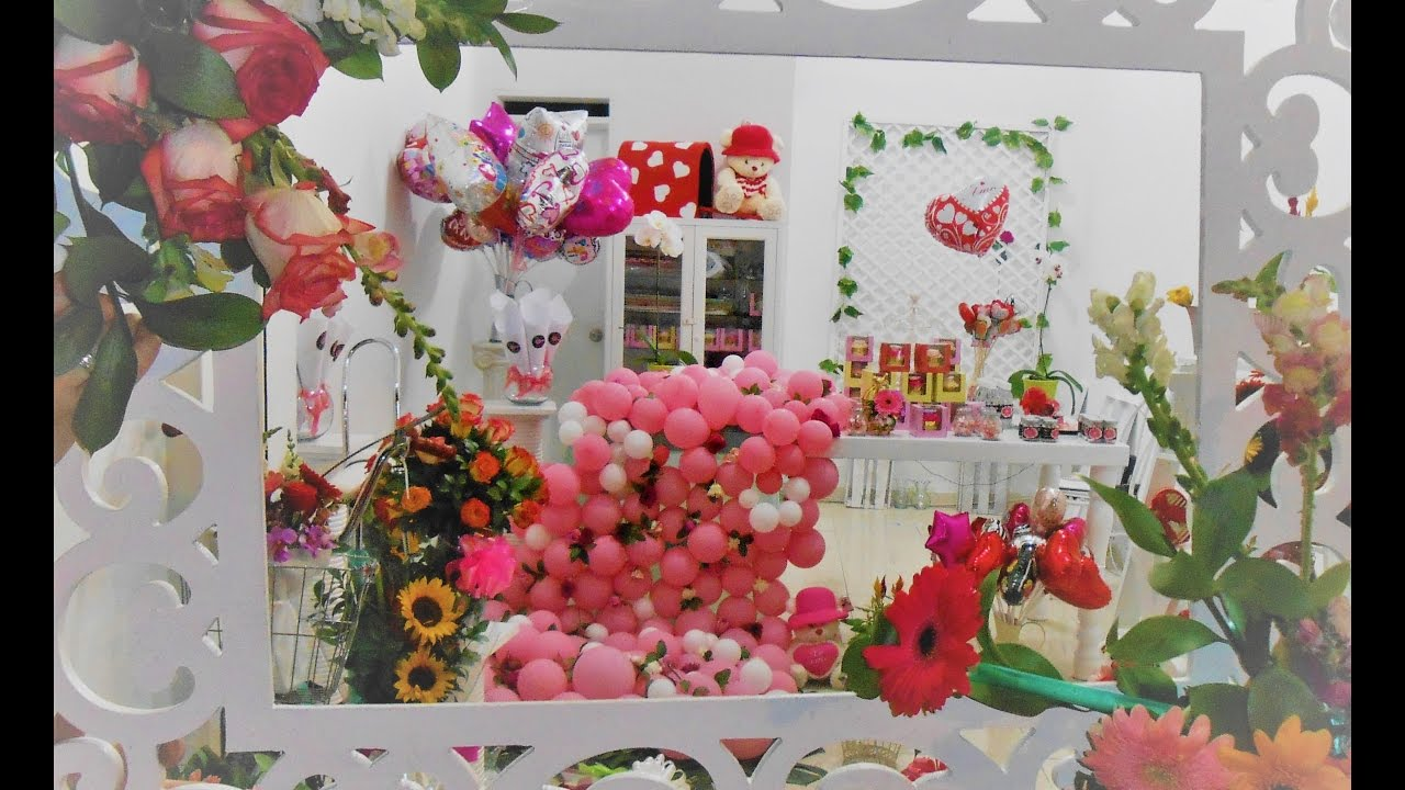 Decoraciones mesa vintage flores y globos youtube for Decoracion con plantas en living