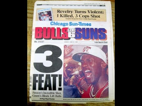 Michael Jordan (Age 30): Entire 1993 Playoff Run, Bulls 3-Peat, Jordan's Abrupt 1st Retirement!